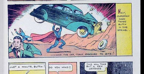 Action Comics #1 (1938) Sells for $3.2 Million Dollars