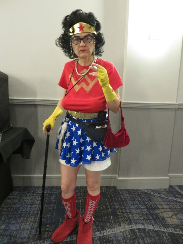 Retired Wonder Woman
