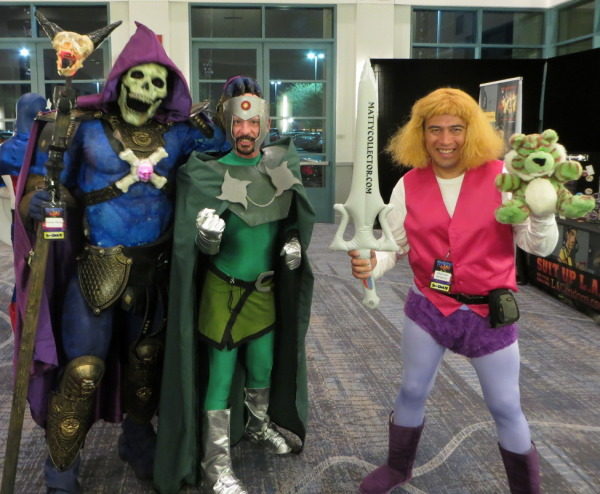 Skeletor, Professor Chaos, Prince Adam