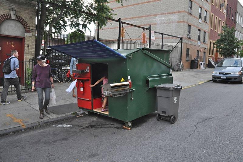 dumpster-house