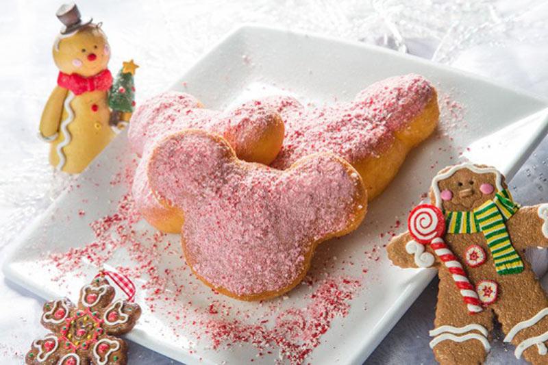 Disneyland Christmas Holiday Beignets