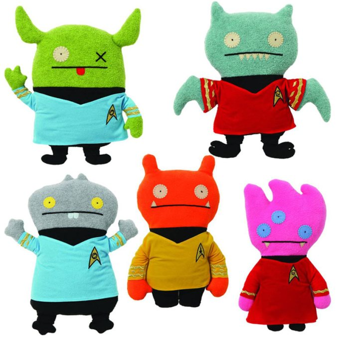 UglyDoll-Star-Trek-plushes