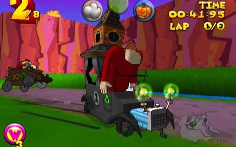 Retro Game Review: Wacky Races Dreamcast