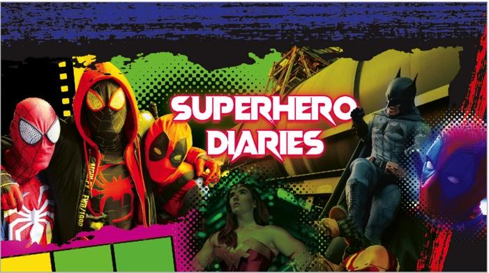 Digital Sky Launches New Series 'SuperHero Diaries'