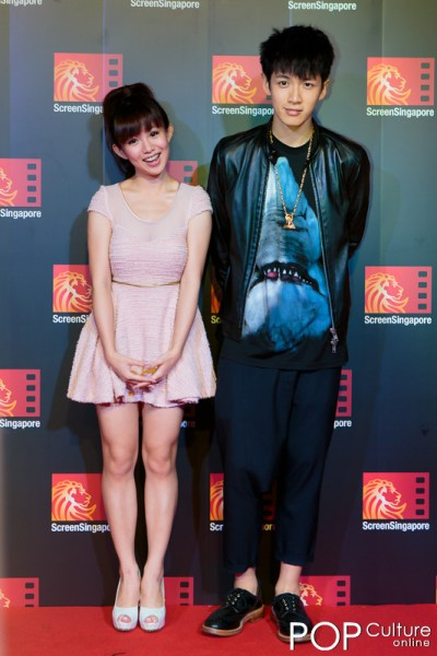 Screen Singapore 2012: The Last Tycoon Red Carpet - Kai Ko & Guo Shu Yao