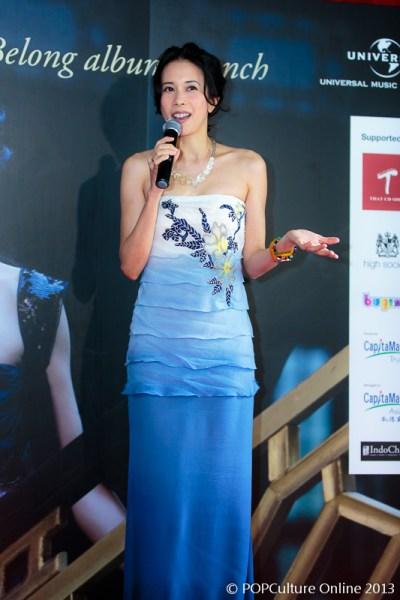 Karen Mok Somewhere I Belong Press Conference