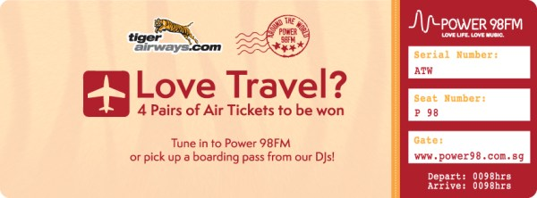 Around The World with Power 98FM Giveaway