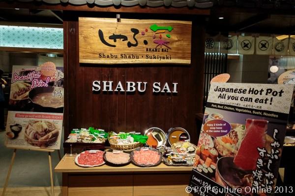 POPCulture Online Visits Shabu Sai At Orchard Central