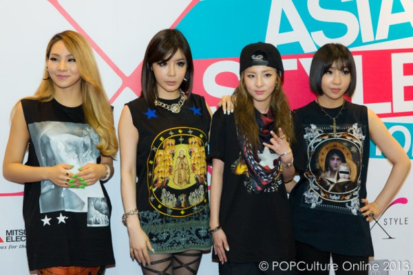 Meeting 2NE1 at the Asia Style Collection