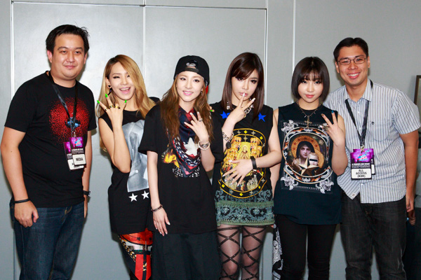 2NE1 CL, Minzy, Dara, and Bom