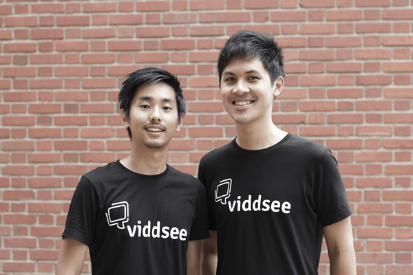 Ho Jia Jian and Derek Tan Co-founders of Viddsee