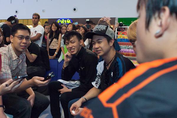 Ah Boys To Men Cast Tosh Zhang, Noah Yap, Wang Wei Liang, Charlie Goh and Maxi Lim