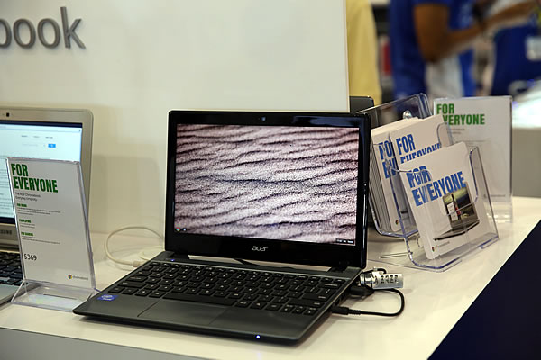 PC Show 2013 Acer Chromebook