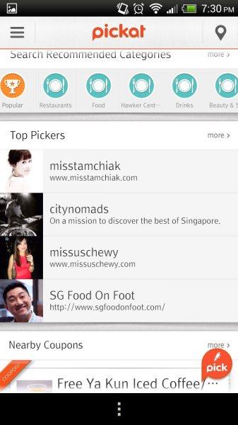 Pickat Screen Shot 05 Top Pickers