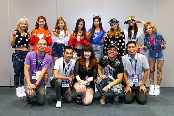meeting girls generation snsd