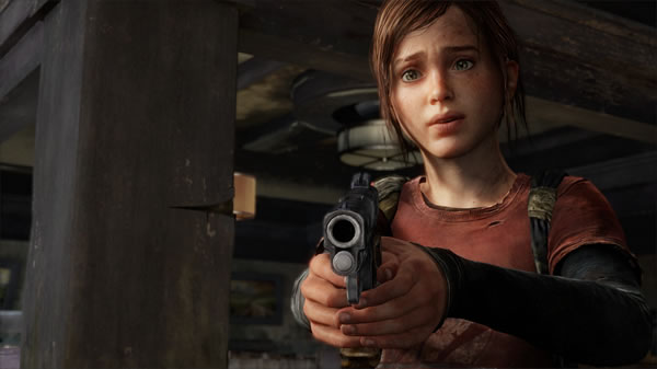 the last of us review screen shot ellie aiming gun 01