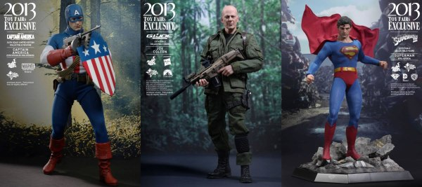 STGCC 2013 - Hot Toys - Captain America Superman Joe Colton