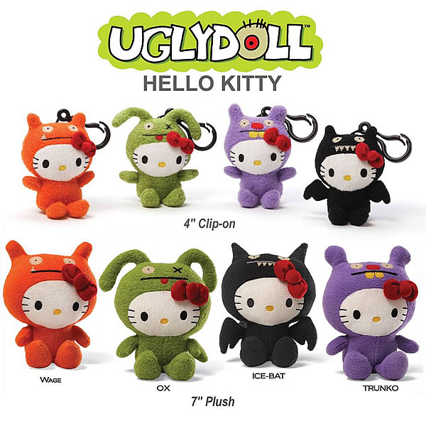 STGCC 2013 - Toys - UglyDoll - Hello Kitty