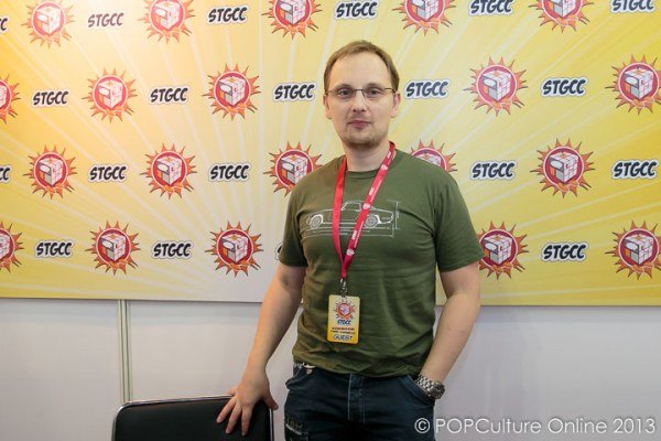 STGCC 2013 Interview with Adi Granov