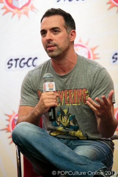 STGCC 2013 Interview Joe Madureira (1)
