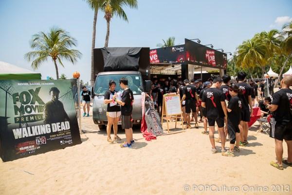 The Walking Dead Zombie Pop Up Cafe
