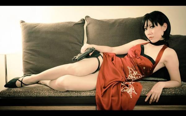 Resident Evil 4 Ada Wong Cosplay by Blacklash Jo