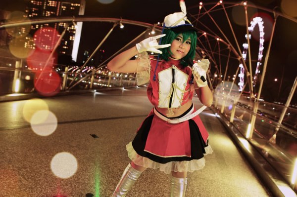 Kitska Hiwatari Ranka Lee Cosplay