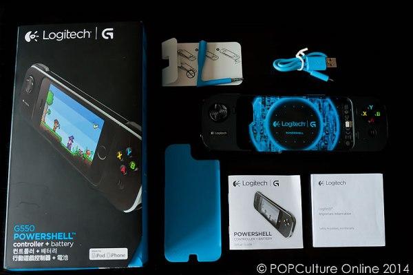 Logitech G550 Powershell Controller + Battery