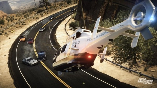 Need For Speed Rivals Review Helicopter Inbound