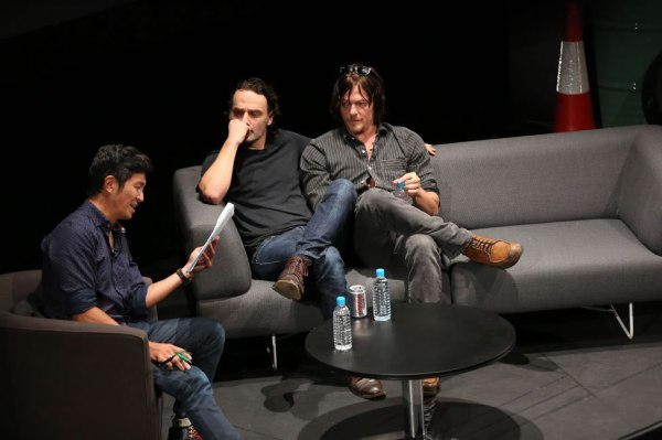 The Walking Dead Live Singapore Adrian Pang Andrew Lincoln Norman Reedus