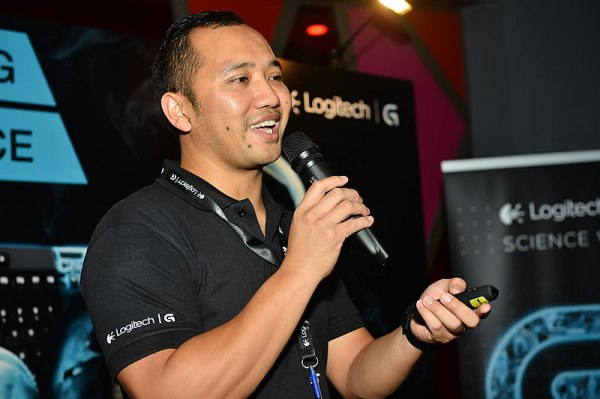 Mr. Sony Wahib, the Cluster Category Manager of Logitech, was telling gamers how to choose the best gaming products