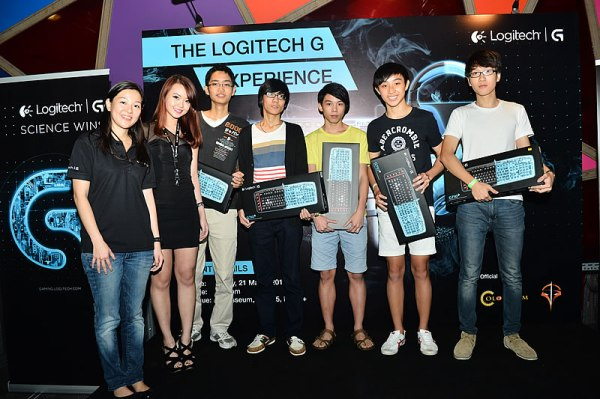 Team Mark emeraged as the winner and took home the Logitech gaming products