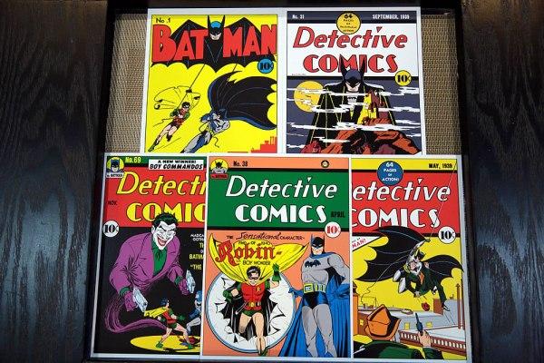 SingPost DC Comics Justice League & Batman 75th Anniversary MyStamp Collection Batman Postcards