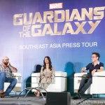 Marvel's Guardians of the Galaxy Southeast Asia Press Conference - James Gunn Zoe Saldana Dave Bautista