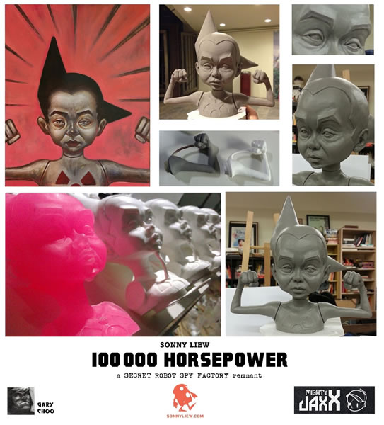 STGCC 2014 Booth of Lost Things 100000 Horsepower Sonny Liew Gary Choo Mighty Jaxx