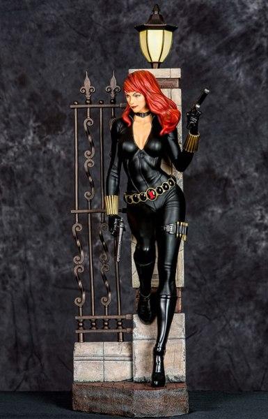 STGCC 2014 XM Studios Marvel Premium Collectibles statue series Black Widow