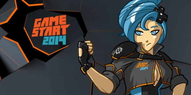 GameStart 2014 Banner Logo
