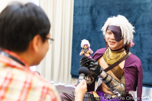 ICDS 2014 - Cosplayer Dat Baka Interview 01
