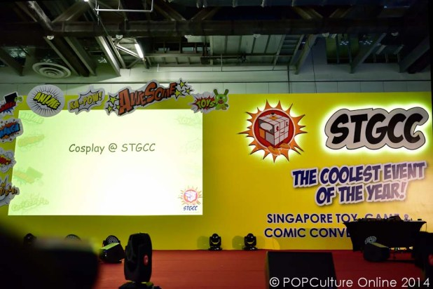 STGCC 2014 Cosplay Runway