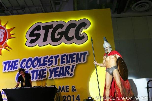 STGCC 2014 Cosplay Runway 300 King Leonidas
