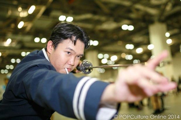 STGCC 2014 Cosplay Saito Hajime from Rurouni Kenshin