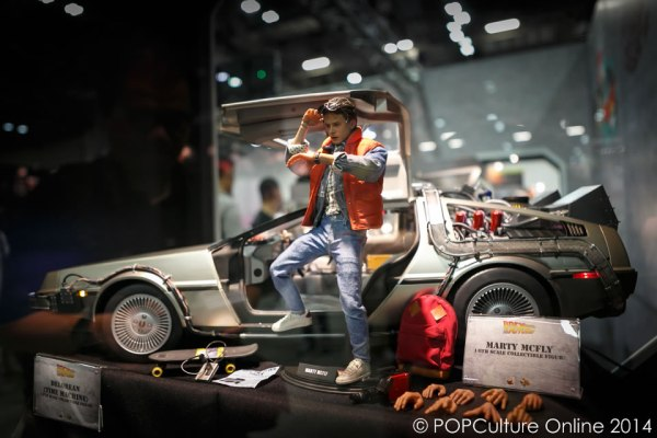STGCC 2014 Hot Toys Back To The Future Marty Mcfly