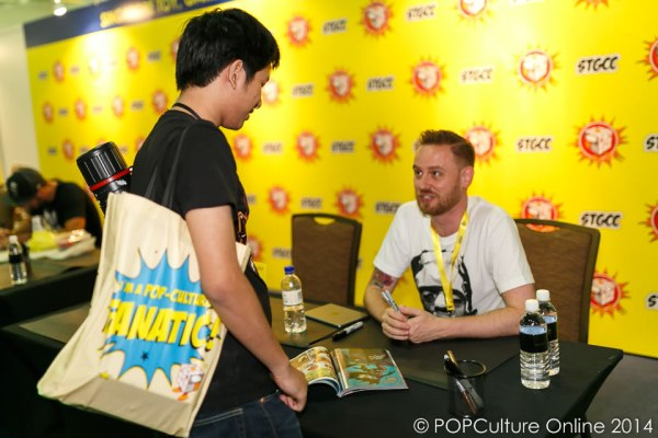 STGCC 2014 Interview Cameron Stewart Walk of Fame