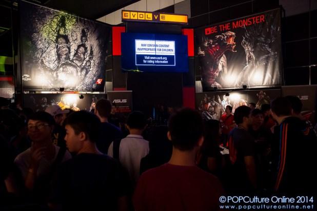 GameStart 2014 2K Asia Evolve booth