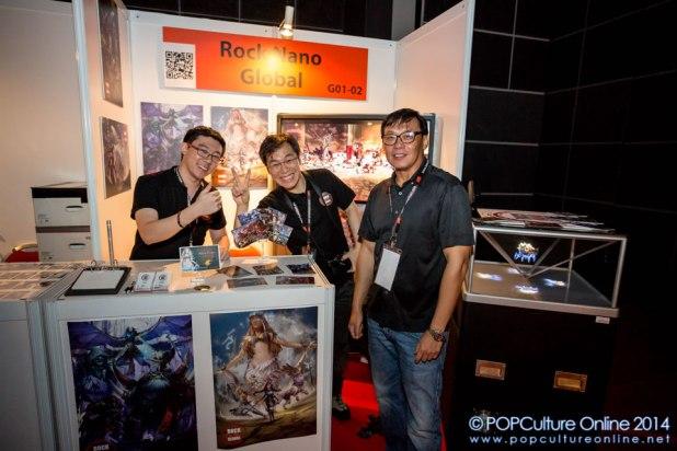 GameStart 2014 - Founders Base Rock Nano Global
