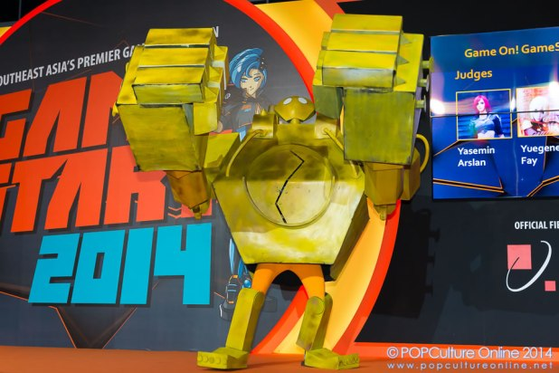GameStart 2014 Game On Cosplay Competition League of Legends Blitzcrank