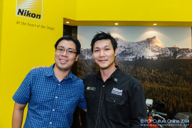 Meeting Nikon ambassador in Singapore Alex Soh
