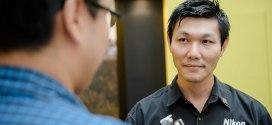 Meeting Nikon ambassador in Singapore Alex Soh