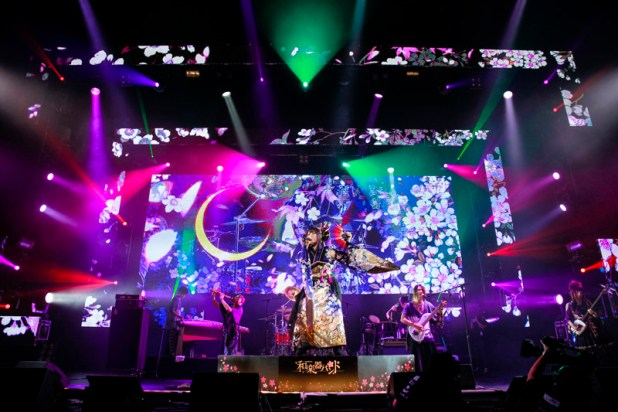 a-nation Singapore 2014 - Wagakki Band
