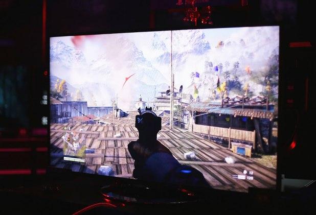 GameStart 2014 Sony Playstation Booth Far Cry 4